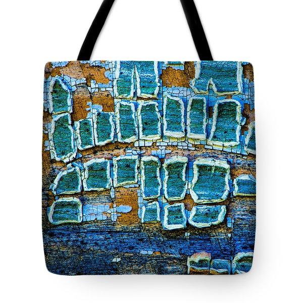 Painted Windows Number 1 Tote Bag