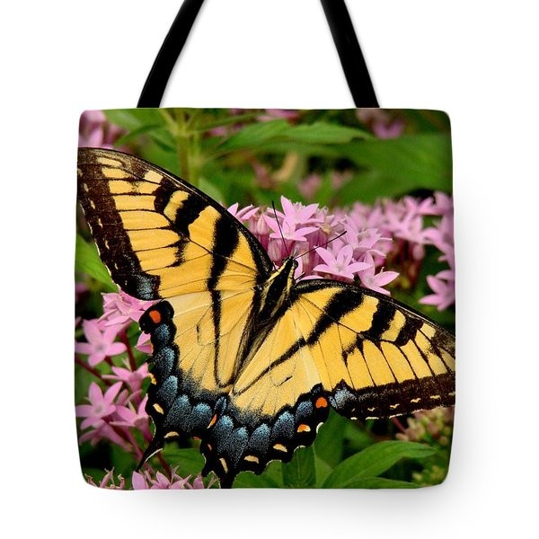 Painted Wings Tote Bag