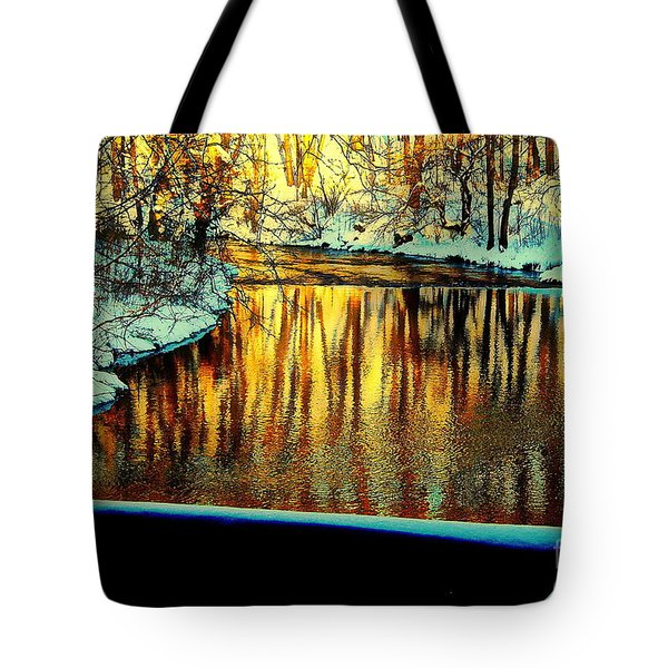 Painter's Box Tote Bag by Tami Quigley