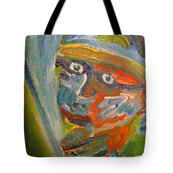 Painting Myself Tote Bag