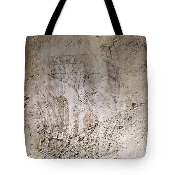 Painting West Wall Tomb Of Ramose T55 - Stock Image - Fine Art Print - Ancient Egypt Tote Bag