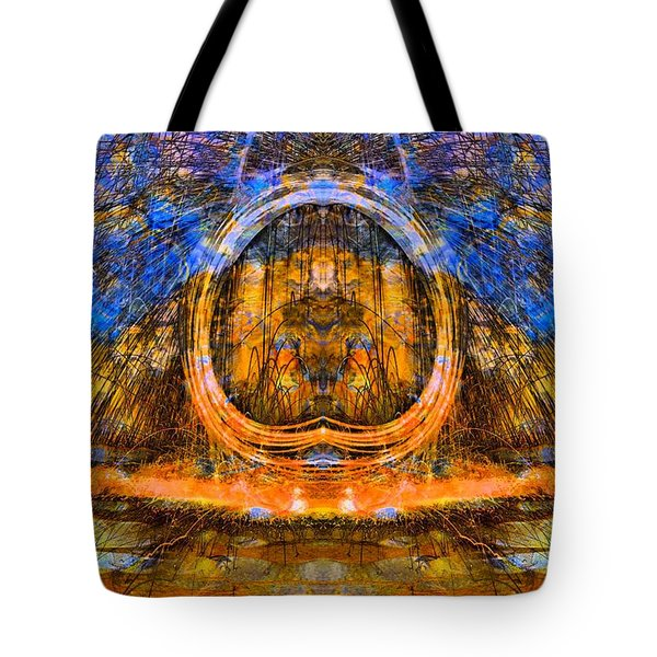 Painting With Fire Tote Bag