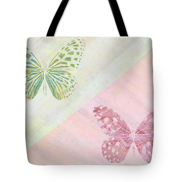 Pairs Of Wings Tote Bag by Aged Pixel