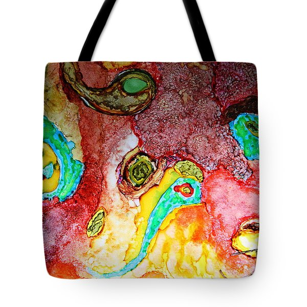 Paisley Whispers.. Tote Bag