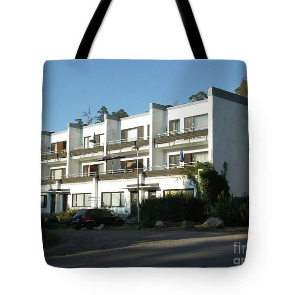 Paivola Building In Sunila Tote Bag