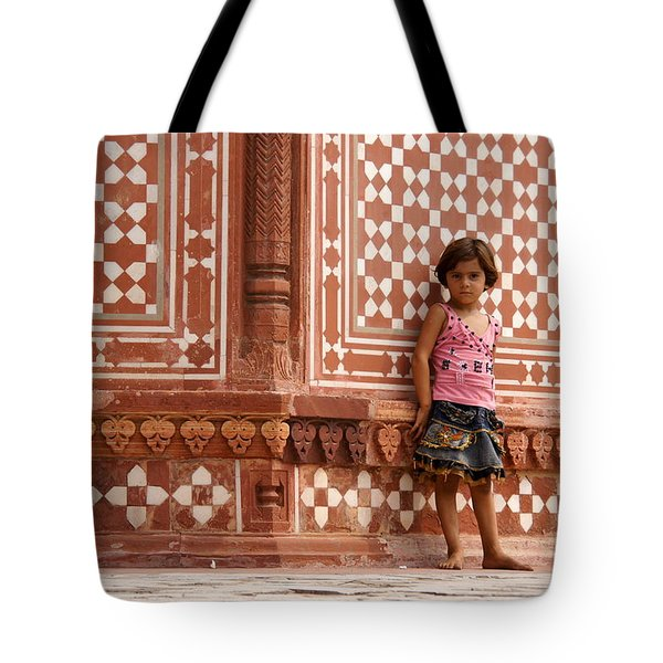 Pakistani Girl Tote Bag