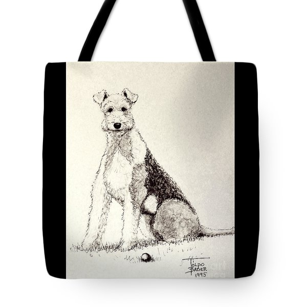 Pal The Airedale Tote Bag