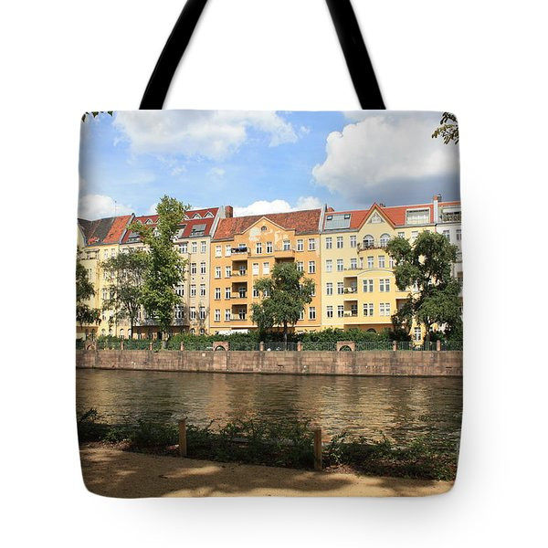 Palace Garden View Tote Bag by Carol Groenen