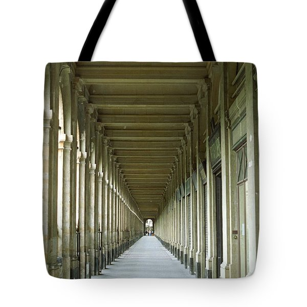 Tote Bag featuring the photograph Palais Royale by Susie Rieple