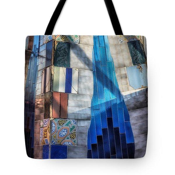 Palau Guell Tote Bag by Joan Carroll