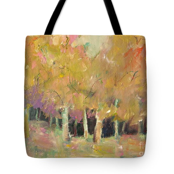 Pale Forest Tote Bag