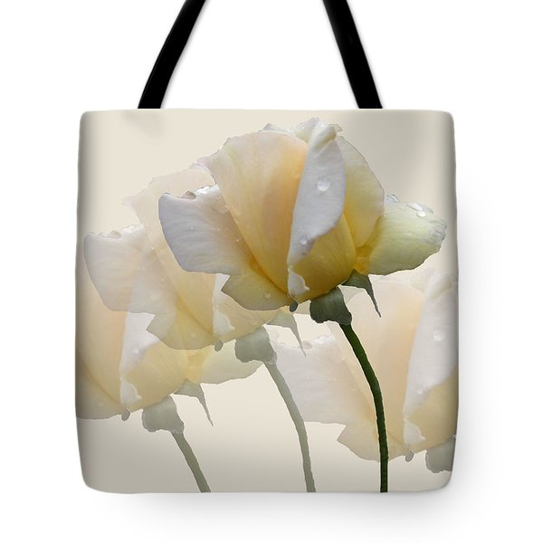 Tote Bag featuring the photograph Pale Yellow by Rosalie Scanlon