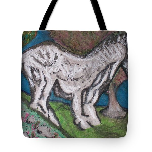 Out There Alone. Tote Bag