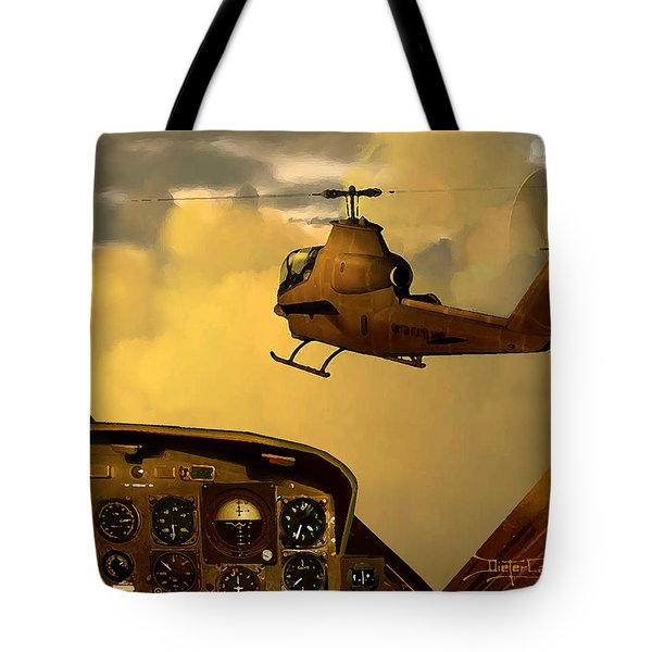 Palette Of The Aviator Tote Bag
