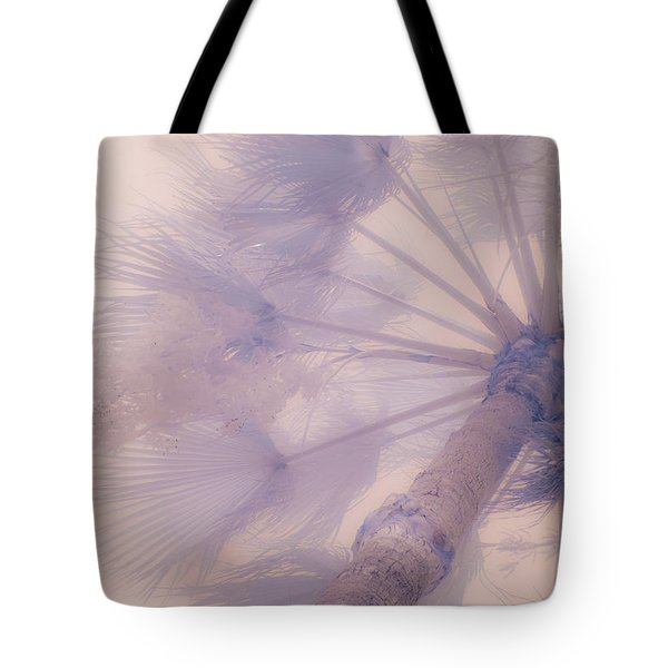 Palm Haze Tote Bag
