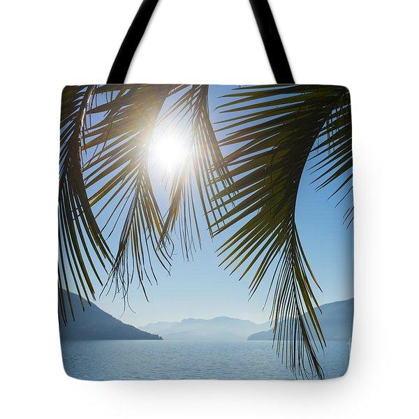 Palm Leaf Tote Bag by Mats Silvan
