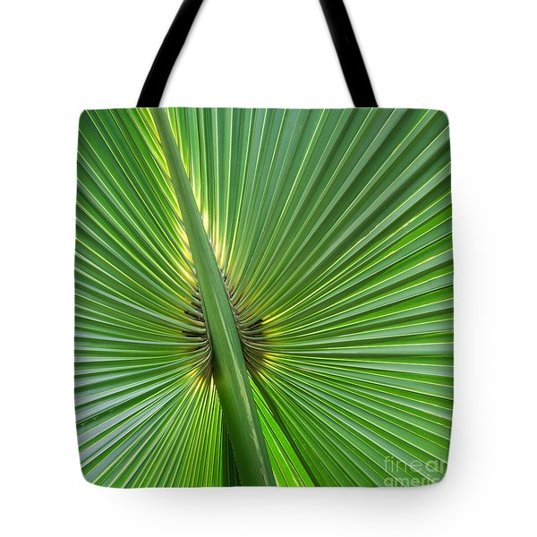 Tote Bag featuring the photograph Palm Love by Roselynne Broussard