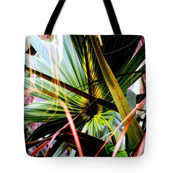 Palm Through The Fronds Tote Bag