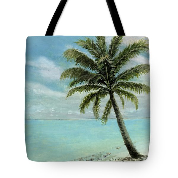 Palm Tree Study Tote Bag by Cecilia Brendel