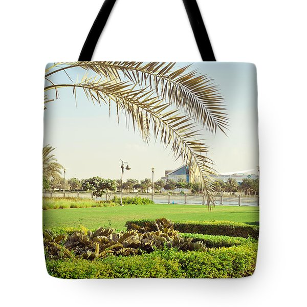Palm Tree Tote Bag by Tom Gowanlock