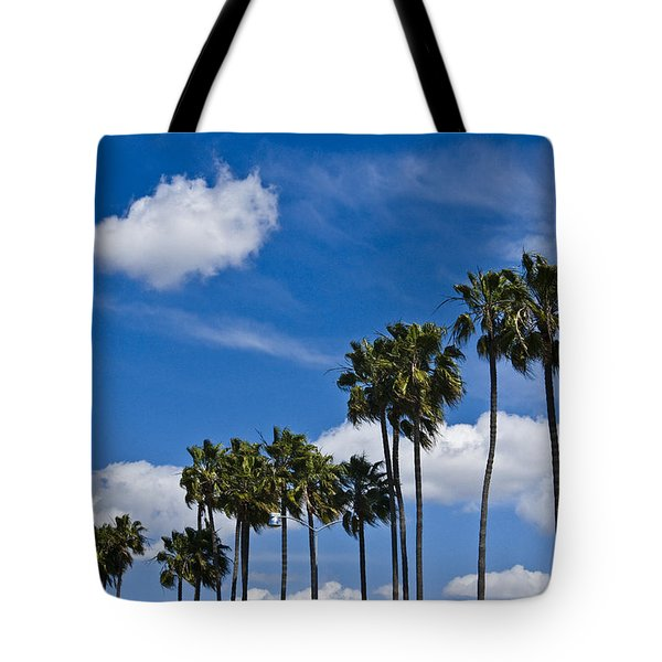 Palm Trees In San Diego California No. 1661 Tote Bag