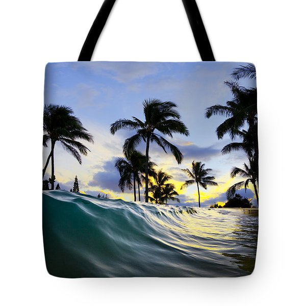 Palm Wave Tote Bag