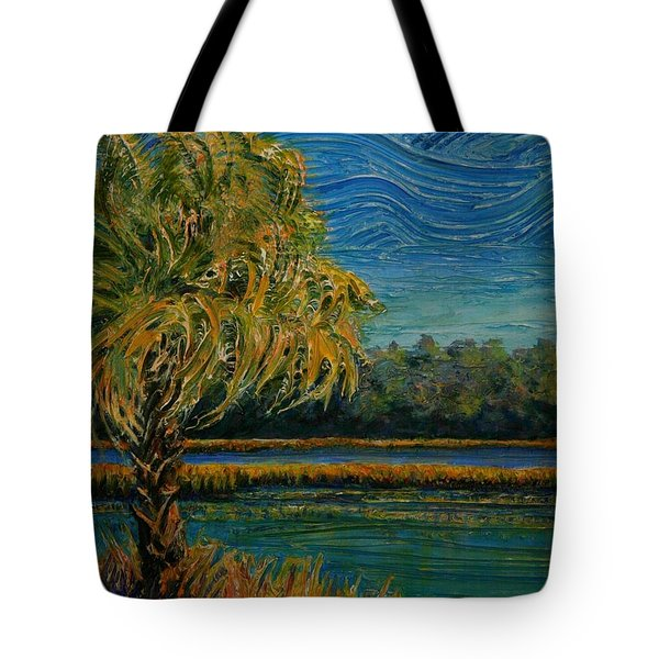 Tote Bag featuring the painting Palmetto State by Dorothy Allston Rogers