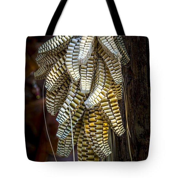 Palmetto Weave Tote Bag