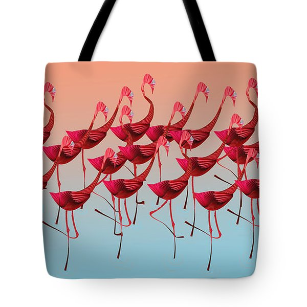 Palmingos Tote Bag