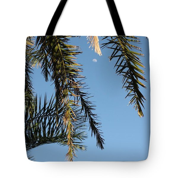 Palms In The Wind Tote Bag by AR Annahita