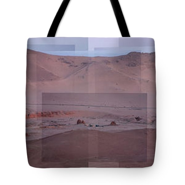 Palmyra Syria Valley Of The Tombs Tote Bag