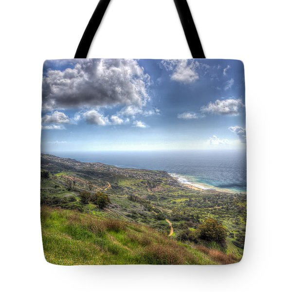 Palos Verdes Peninsula Hdr Tote Bag by Heidi Smith