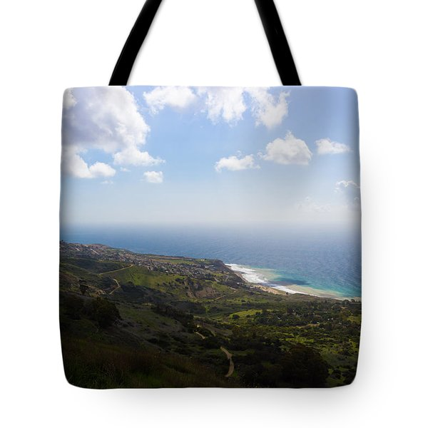 Palos Verdes Peninsula Tote Bag by Heidi Smith