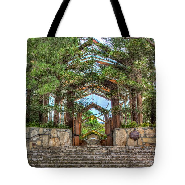 Palos Verdes Stone And Glass Tote Bag