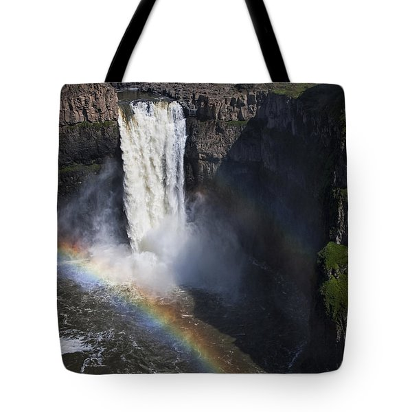 Palouse Falls II Tote Bag by Mark Kiver