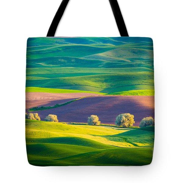 Palouse Field 3 Tote Bag