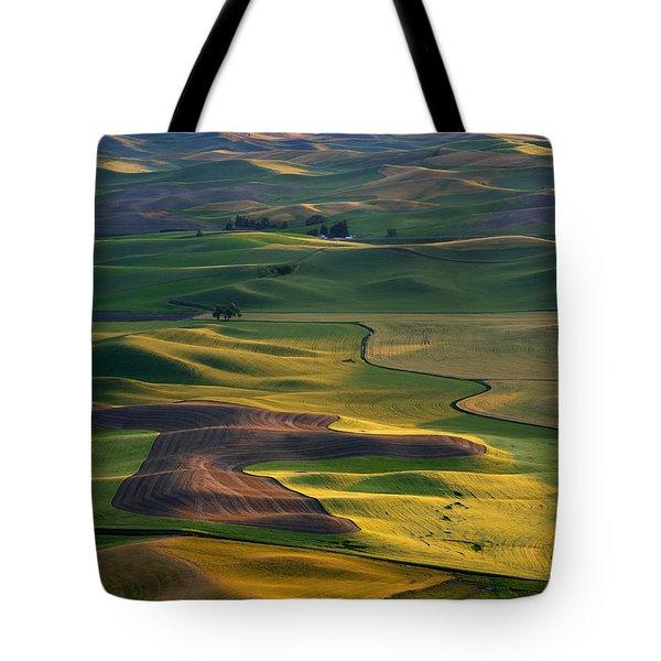 Palouse Shadows Tote Bag