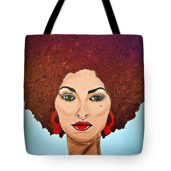 Pam Grier C1970 The Original Diva Tote Bag