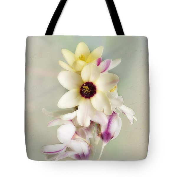 Tote Bag featuring the photograph Pamela by Elaine Teague