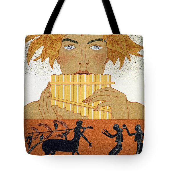 Pan Piper Tote Bag