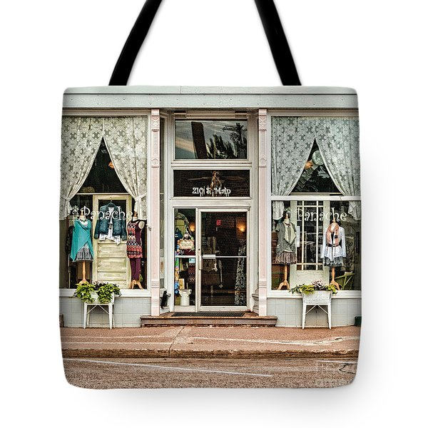 Tote Bag featuring the photograph Panache by Trey Foerster