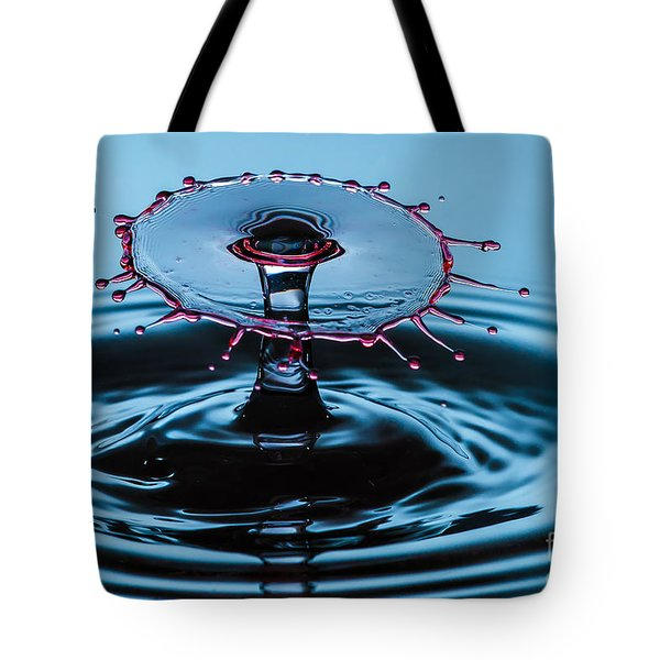 Pancake Water Splash Tote Bag
