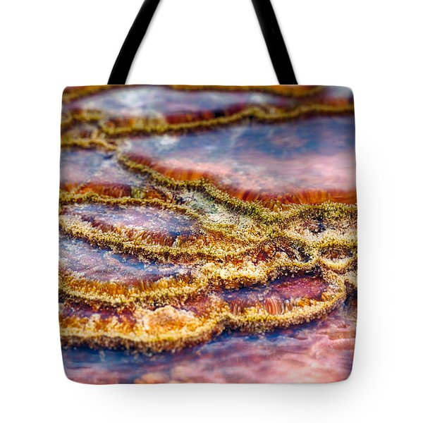 Pancakes Hot Springs Tote Bag