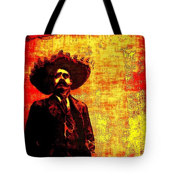 Pancho Villa Tote Bag by Joan  Minchak
