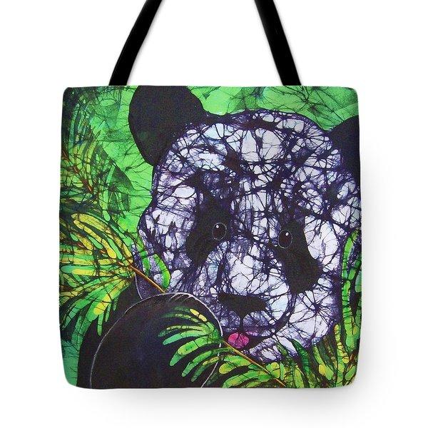 Panda Snack Tote Bag