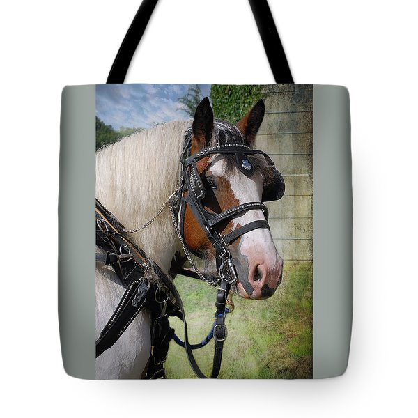Pandora In Harness Tote Bag by Fran J Scott
