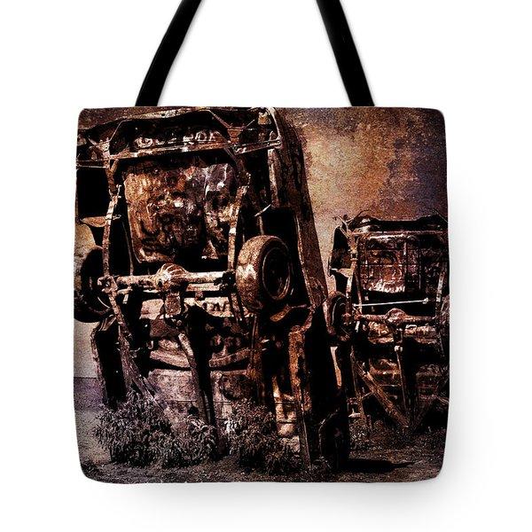 Panic Break Tote Bag