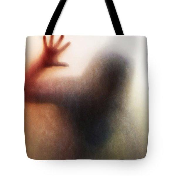 Panic Silhouette Tote Bag by Carlos Caetano