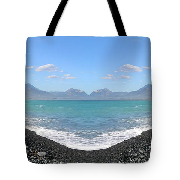 Panorama Lake Tote Bag