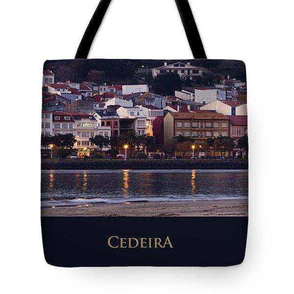 Panorama Of Cedeira Galicia Spain Tote Bag